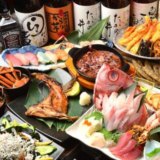 〜肉と海鮮〜個室居酒屋魚ずみとしてリニューアルオープン!!