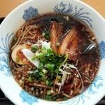 麺処 山百合 - 石川ブラックラーメン850円