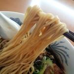 麺処 山百合 - 石川ブラックラーメン麺リフト