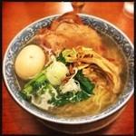 麺屋 空海 - 味玉ラーメン塩