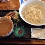 ごさく亭 - 湯つきつけ麺 しょう油たれ 730円  美味しいね〜(^^)
