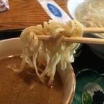 ごさく亭 - 湯つきつけ麺 しょう油たれ 730円  うまいー