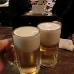 舞々亭 - サッポロ生ビール572円