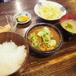 ひろし - もつ煮込み定食