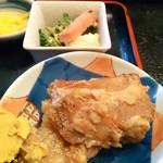 和の多寿都 - ソーキとゴーヤチャンプルーの小鉢