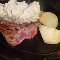 ステーキハウスB&M - ガーリックバターステーキ