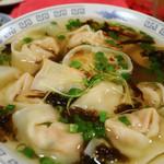 上海雲呑 樓 - スープ雲呑