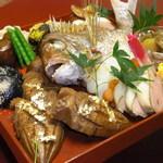 神楽坂 割烹 加賀 個室と会席接待の宴会処 - お祝い膳