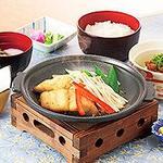 サガミ - ほっけの旨塩焼定食…1,390円+税