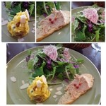 ラ パニエ ド ニーム - ~前菜~10種のグリーンサラダ パルメザン風味