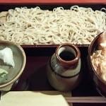 すが原 - 魚天丼&せいろランチ(1日10食限定)  ¥1380