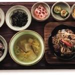 韓食 古家 - ボソッ・プルコギ定食 1,950円