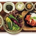 韓食 古家 - デジ・プルコギ定食 1,950円