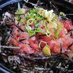 新浜屋 - 料理写真:日替わりランチ:ネギトロ丼です。