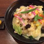九州 熱中屋 - 皿うどん ¥850