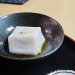 静亭 - ごま豆腐