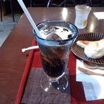 カフェギャラリー柚 - アイスコーヒー