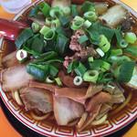 中華そば 麺屋7.5Hz - チャーシュー麺(中)