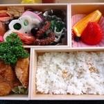 料理茶屋芭蕉 - 【2013.03】1,500円のお弁当