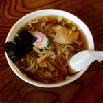 36783834 - さっぱり系のスープがうまい。                       シンプルラーメン!
