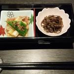 秋田比内地鶏生産責任者の店 本家 あべや - 前菜