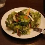 ピッツァパッツァ - セットのサラダ
