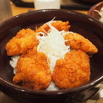 ケンボロー - カツ丼(アップ)