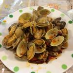 北京家庭菜 - あさりの炒め物