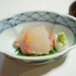 ひろ作 - 鯛の昆布〆