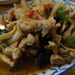 36790868 - タイ風鶏肉と生姜の炒め