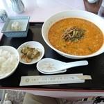 大麻生ゴルフ場 レストラン - 料理写真:担々麺セット