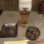 なむさん - 生ビール&お通し