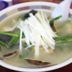 やじ満 - 浅利拉麺=木耳、韮、葱、玉葱、生姜=15年4月