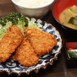 鐘栄丸 - 鮪トロかつ定食