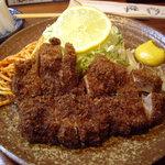 とんかつ ブウ亭 - ブウ亭(代々木):昼のロースかつ定食(1630円)
