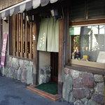 とんかつ ブウ亭 - 「横丁のとんかつ屋」の風情漂う古風な店構え
