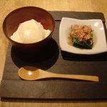 368534 - 豆腐&おひたし