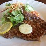 カフェテリア アメニティ - 料理写真:黒毛和牛のステーキ