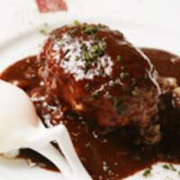 ハンバーグ ウィル - 料理写真:●デミグラスソース 仔牛の骨と筋と野菜をじっくり煮込んだソースです。