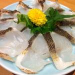 柳せ - コチ 刺身