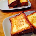 エム ハウス - ブリオッシュフレンチトースト