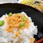 麻布茶房 - 鮭ごはん 250円