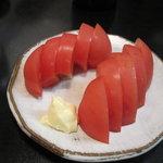 澤乃井 - 冷やしトマト
