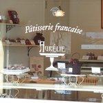 パティスリー フランセーズ オーレリー - 可愛いロゴ