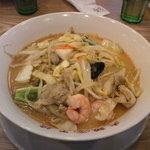 大阪王将 - 海鮮白湯チャンポン麺