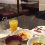 ジョナサン - ホテルの朝食券利用