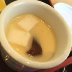 36811687 - 豆腐入りの茶碗蒸し