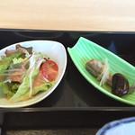 36811688 - サラダと小鯵南蛮漬け