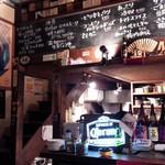 栄八 - 大正らしい雰囲気の鉄板焼き屋
