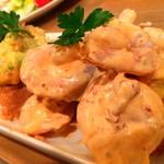 フェローズ ダイナー - アボカドとエビのチポトレマヨ